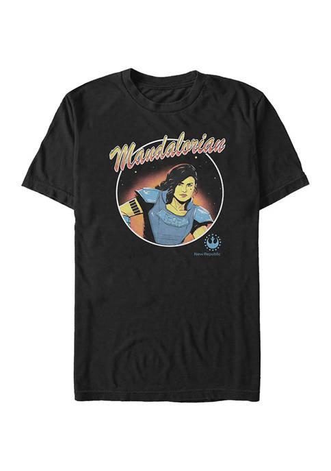 Cara Dune Circle Short Sleeve Graphic T-Shirt