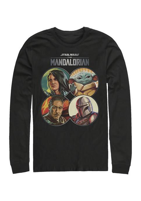 Mando Coins Long Sleeve Crew Graphic T-Shirt