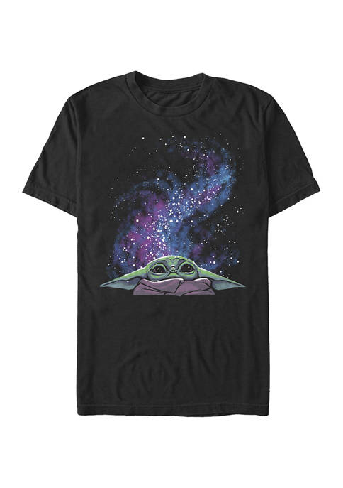 Galaxy Child Peek Short Sleeve Graphic T-Shirt