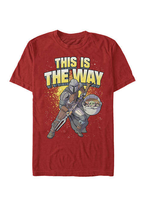 Mando Way Short Sleeve Graphic T-Shirt