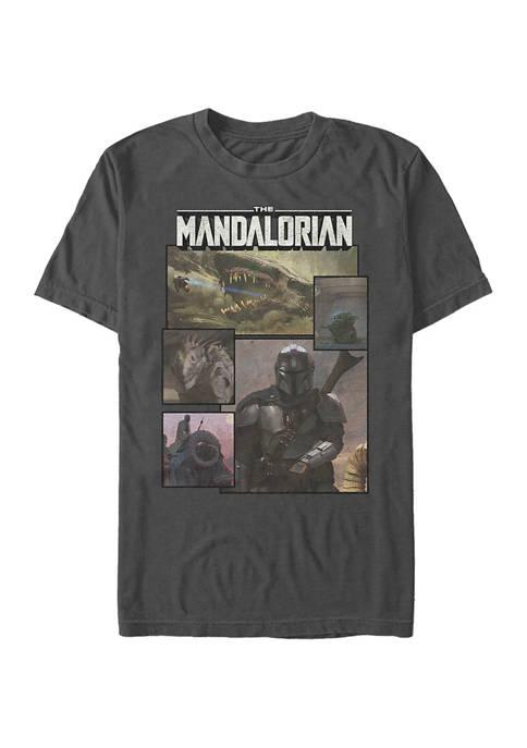 Panelz Short Sleeve Graphic T-Shirt
