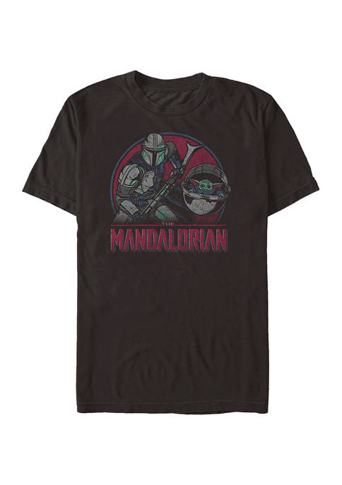 Star Wars The Mandalorian Duo Color Pop Short