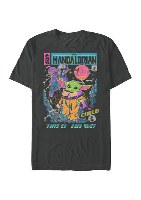 Neon Poster Short Sleeve Graphic T-Shirt