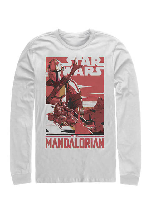 Star Wars The Mandalorian Mad Mando Poster Long