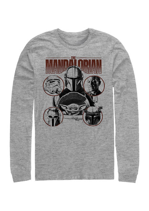 Favored Odds Long Sleeve Crew Graphic T-Shirt