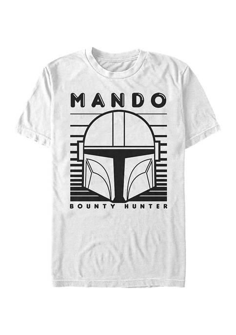 Star Wars The Mandalorian Mando 1 Color Simple