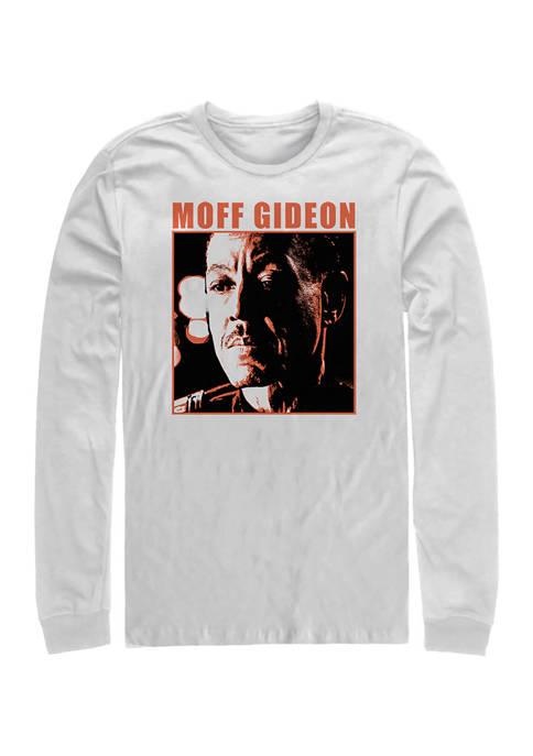Moff Threshhold Long Sleeve Crew Graphic T-Shirt