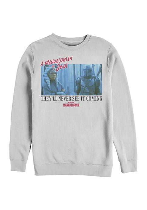 MandoMon Epi5  School Crew Fleece Sweatshirt
