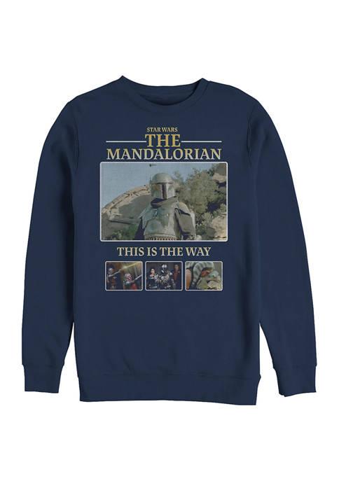 MandoMon Epi6 United Against Crew Fleece Sweatshirt