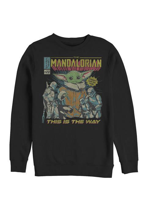 Child Poster Crew Fleece Sweatshirt