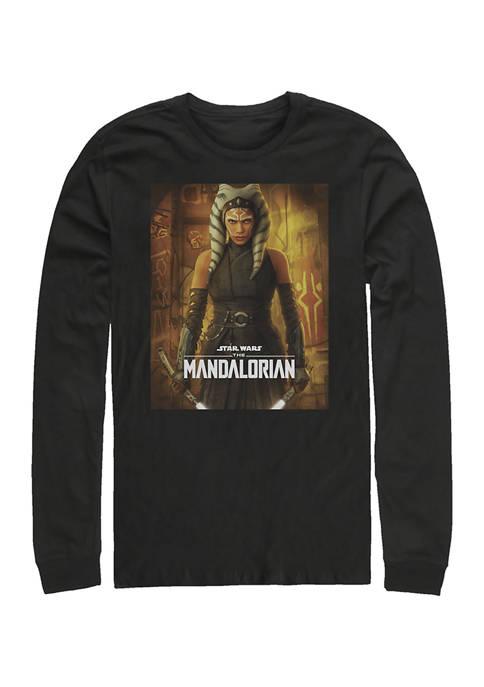 Star Wars The Mandalorian Ahsoka Poster Long Sleeve