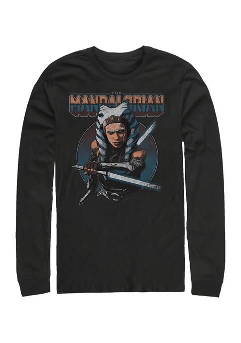 Ahsoka Circle Long Sleeve Crew Neck T-Shirt