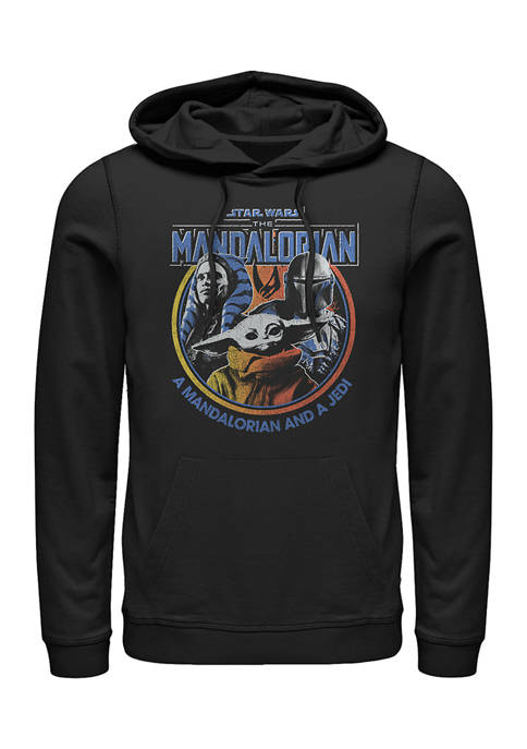 Star Wars The Mandalorian Retro Bright Fleece Graphic