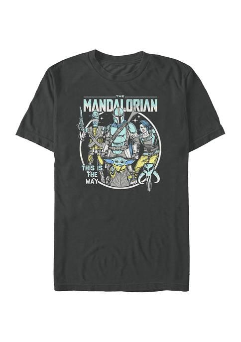 Star Wars The Mandalorian Mando Crew Pop Graphic