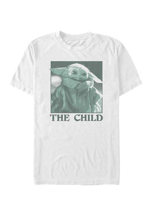 The Child Monochrome Short Sleeve Graphic T-Shirt