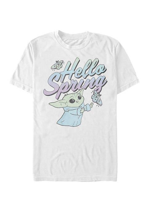 Star Wars The Mandalorian Hello Spring Graphic T-Shirt