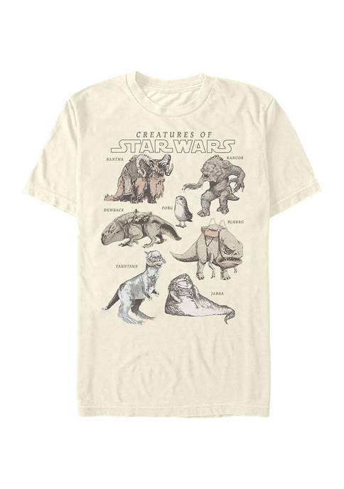 Multi Franchise Some Creatures Short Sleeve Graphic T-Shirt