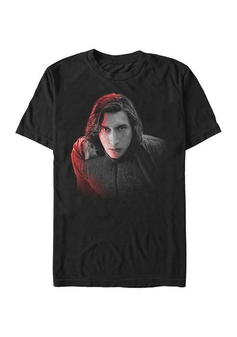 Kylo Ren Face Short Sleeve Graphic T-Shirt