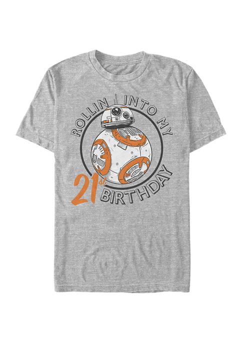 Resistance Birthday BB Twenty One Graphic Short Sleeve T-Shirt