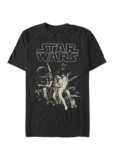 Star Wars® Classic Black and White Poster Short