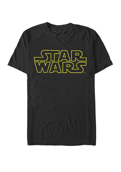 Star Wars® Classic Logo Short Sleeve Graphic T-Shirt
