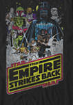 The Empire Strikes Back Vintage Poster Short Sleeve Graphic T-Shirt