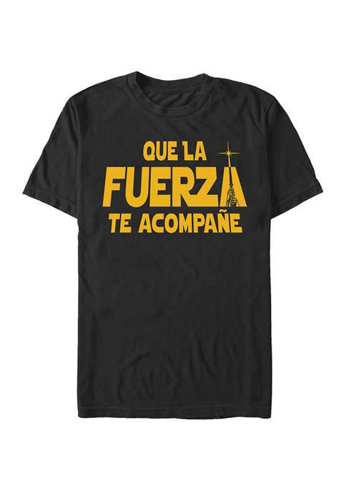 Star Wars® Juniors Fuerza to Acompane Graphic T-Shirt