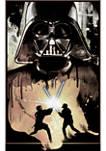 Big & Tall Star Wars Raw Battle Graphic Short Sleeve T-Shirt