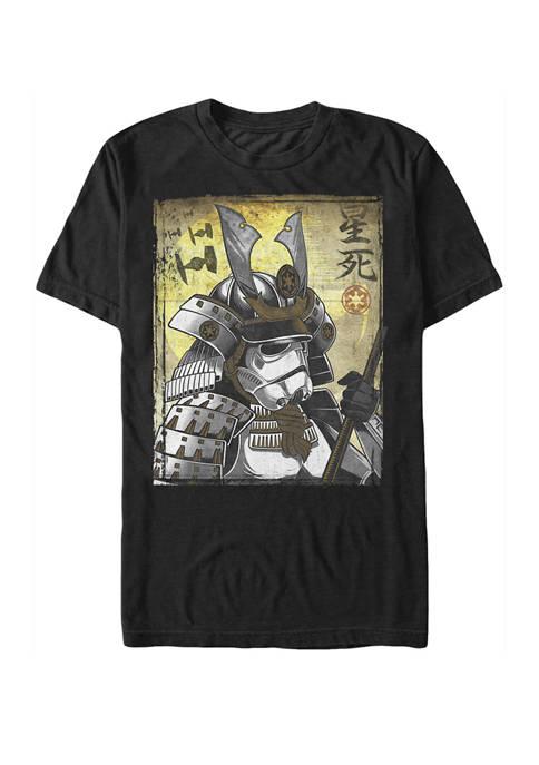 Star Wars® Samurai Trooper Poster Short Sleeve Graphic