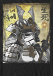 Samurai Trooper Poster Short Sleeve Graphic T-Shirt