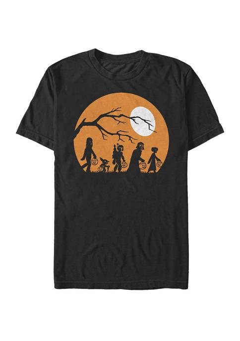 Big & Tall Halloween Moon Short Sleeve T-Shirt