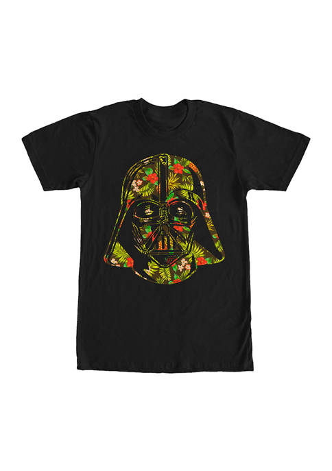 Big & Tall Star Wars® Vader In Trop Graphic Short Sleeve T-Shirt