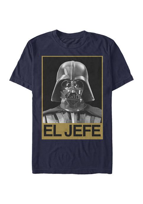 Juniors El Jefe Graphic T-Shirt