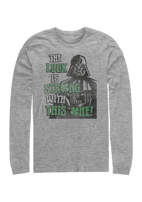 Star Wars Good-Luck Graphic Long Sleeve T-Shirt