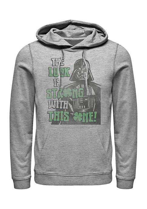 Star Wars Good-Luck Graphic Fleece Hoodie
