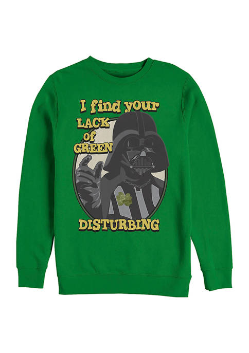 Star Wars™ Vader Pinch Graphic Crew Fleece Sweatshirt