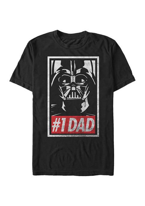 Big & Tall Star Wars Obey Dad Graphic Short Sleeve T-Shirt