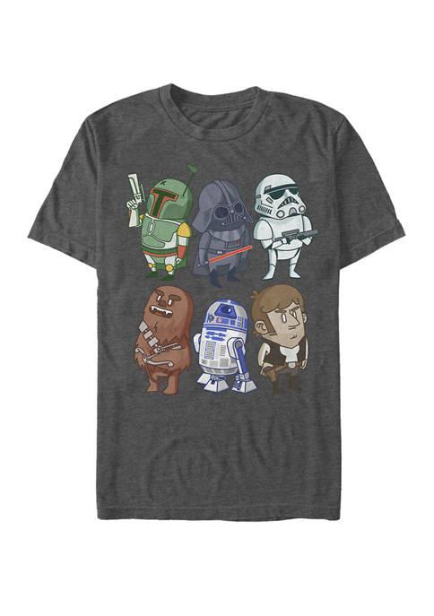Chibi Friends Short-Sleeve T-Shirt