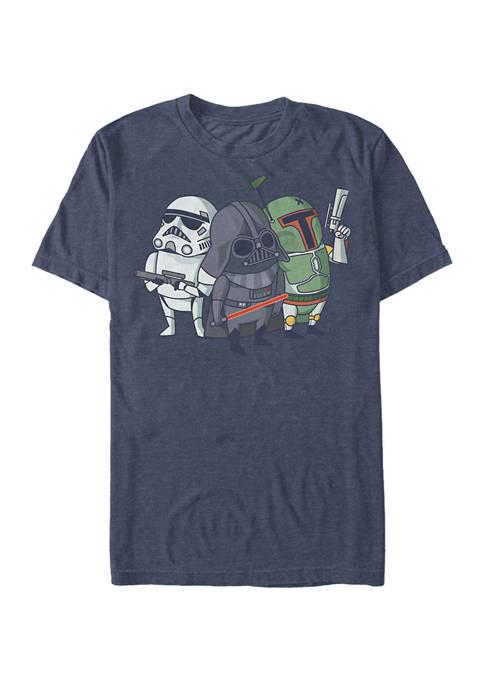 Big & Tall Cute Bad Guys Short Sleeve T-Shirt