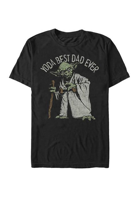 Big & Tall Star Wars Green Dad Graphic Short Sleeve T-Shirt