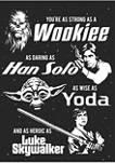 Big & Tall Star Wars® Dad Force Graphic Short Sleeve T-Shirt