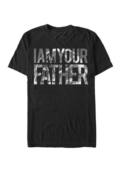 Big & Tall Star Wars Father Time Graphic Short Sleeve T-Shirt