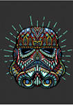 Big & Tall Star Wars® Trooper Sugar Skull Graphic Short Sleeve T-Shirt