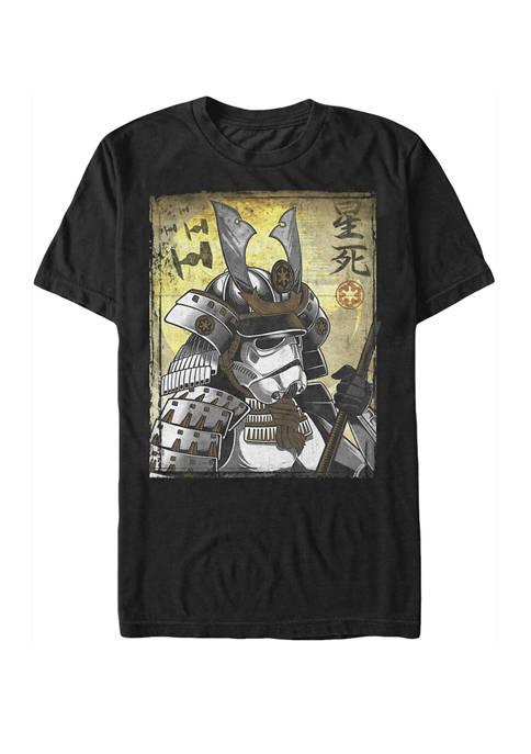 Samurai Trooper Poster Short-Sleeve Tee Shirt