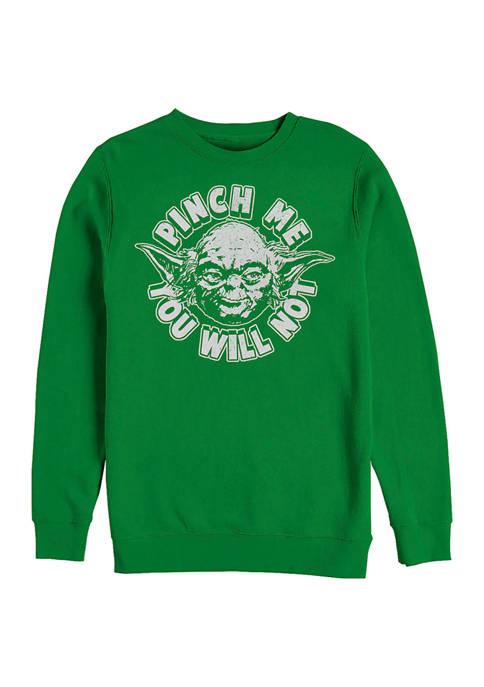 Star Wars™ Dont Pinch Graphic Crew Fleece Sweatshirt