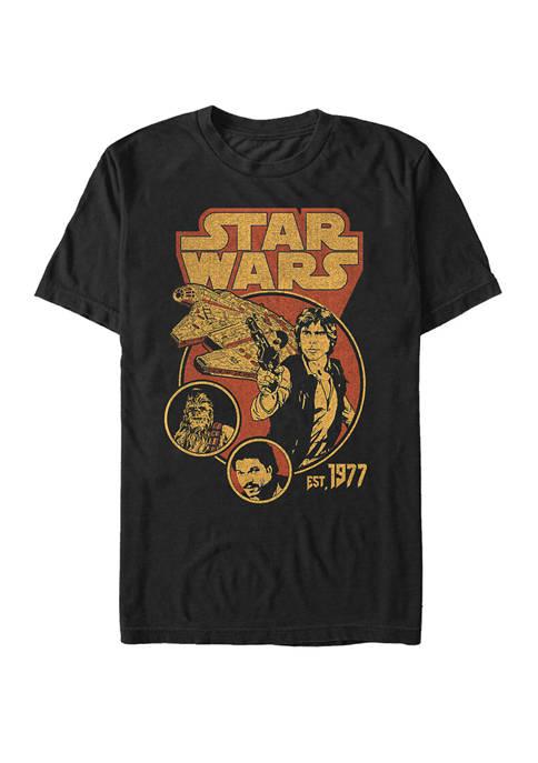 Big & Tall Team Han Solo Short Sleeve Graphic T-Shirt