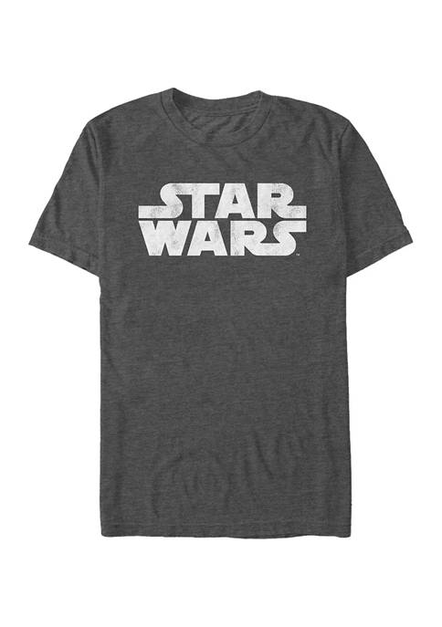 Big & Tall Star Wars® Distressed Logo Graphic Short Sleeve T-Shirt