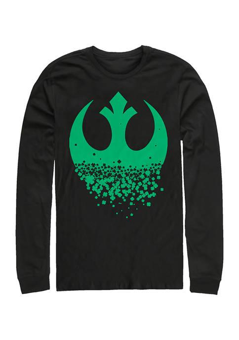 Star Wars™ Rebel Clover Graphic Long Sleeve T-Shirt