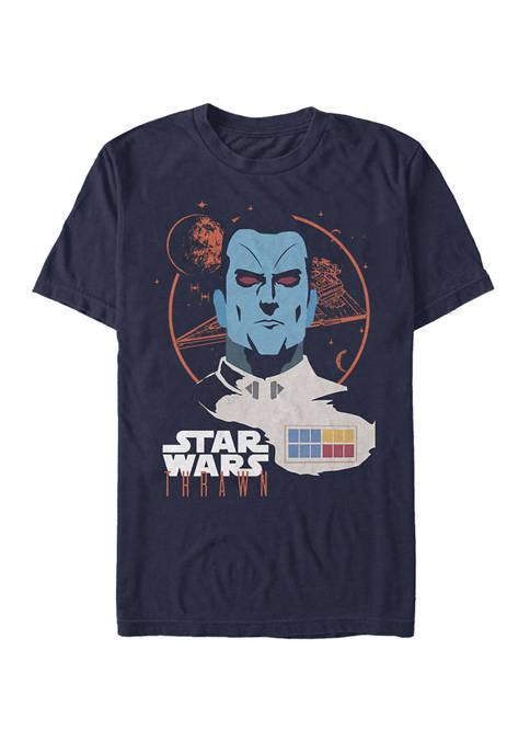Admiral Thrawn Head Short-Sleeve T- Shirt