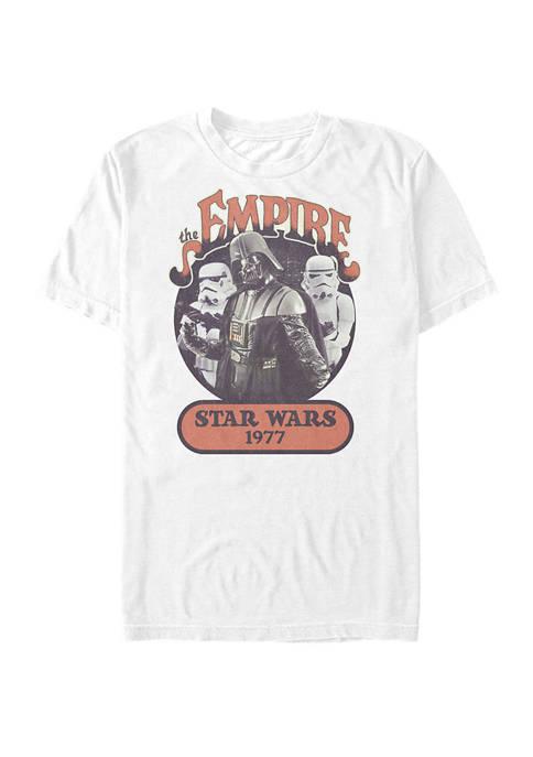 Darth Vader Stormtroopers Vintage 1977 Empire Short Sleeve T-Shirt